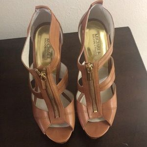 Michael Kors Heels. Only worn once.